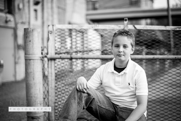 Dover OH Family Photographer - Boy Portrait Children