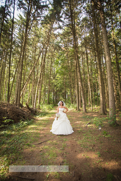 Woods - Ultra wide bridal portrait - New Philadelphia, Dover OH Wedding Photographer (16 of 31)
