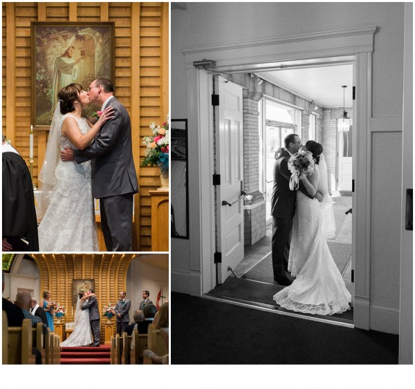 Carrollton Ohio Wedding Kiss Photographer - Tyler Rippel Photography