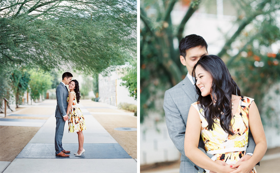 Dover OH Photographer -Palm Springs Styled Engagement Photos
