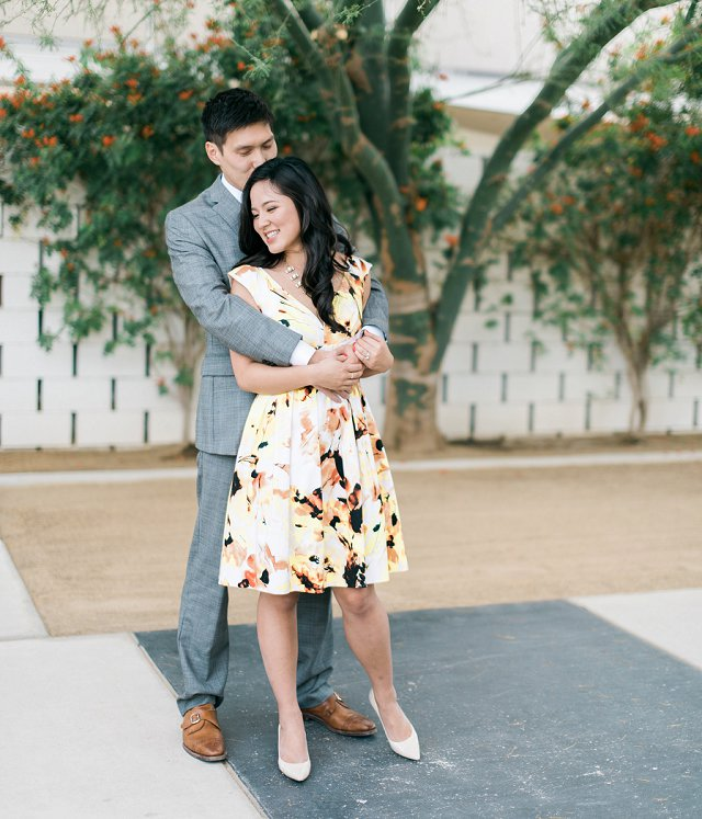 Canton OH Photographer - Styled Engagement Photos on Film - Palm Springs, CA_0100