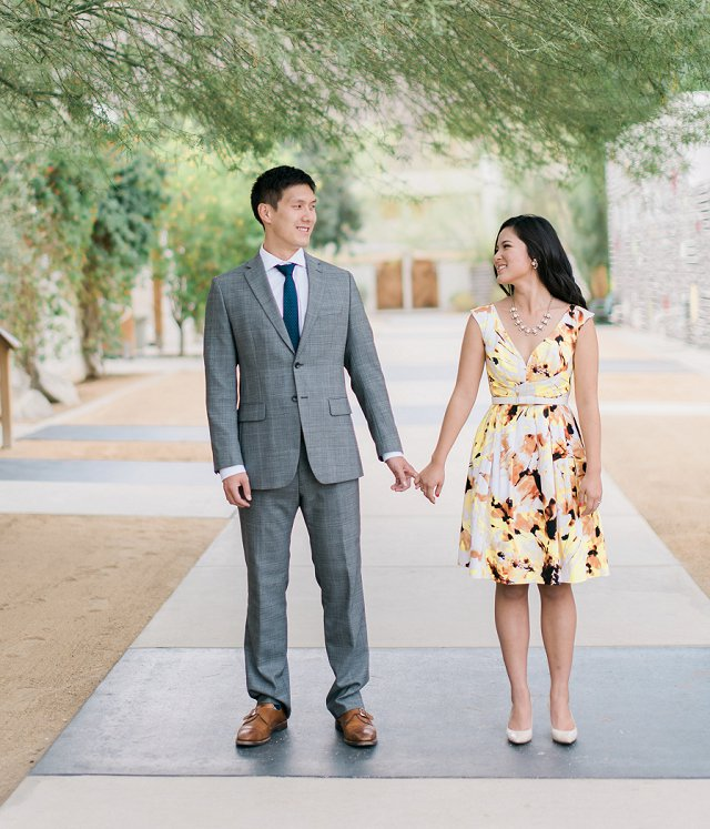 Canton OH Photographer - Styled Engagement Photos on Film - Palm Springs, CA_0101