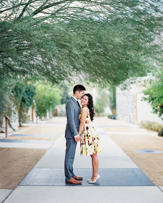 Canton OH Photographer - Styled Engagement Photos on Film - Palm Springs, CA_0102