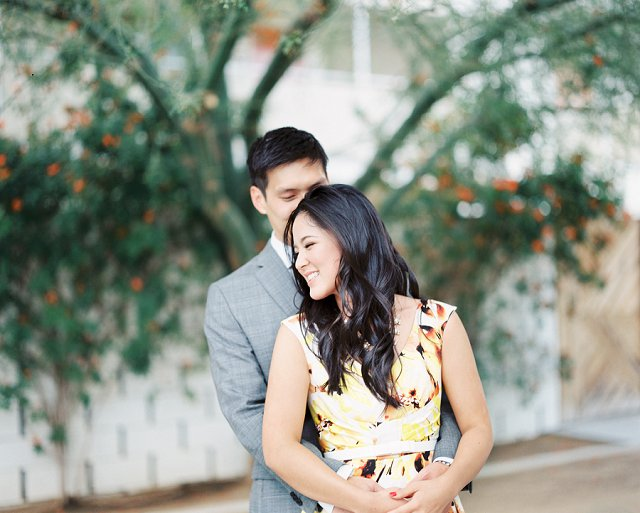 Canton OH Photographer - Styled Engagement Photos on Film - Palm Springs, CA_0105