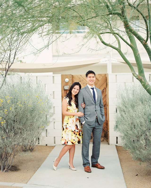 Canton OH Photographer - Styled Engagement Photos on Film - Palm Springs, CA_0106
