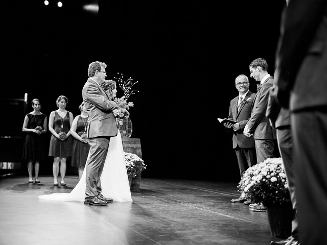 Kent State University Tuscarawas Performing Arts Center wedding. New Philadelphia KSU PAC wedding photographer in NE Ohio. Tyler Rippel Photography